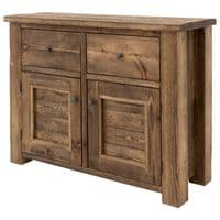 Coleridge Solid Wood Chunky Sideboard with Drawers and Cupboards